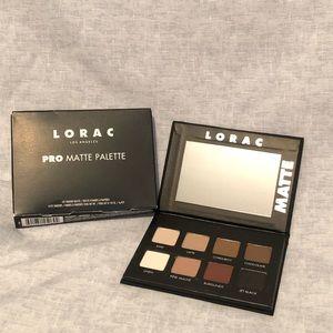 LORAC Pro Matte Eye Shadow Palette Genuine New
